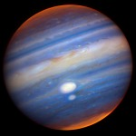 Jupiter, Gemini Obs near-infared color composite